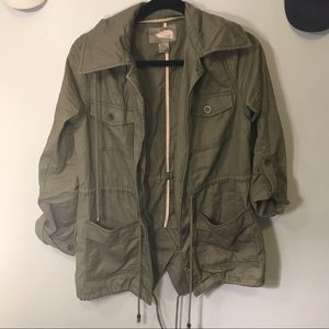 Green Utility/Trench Jacket